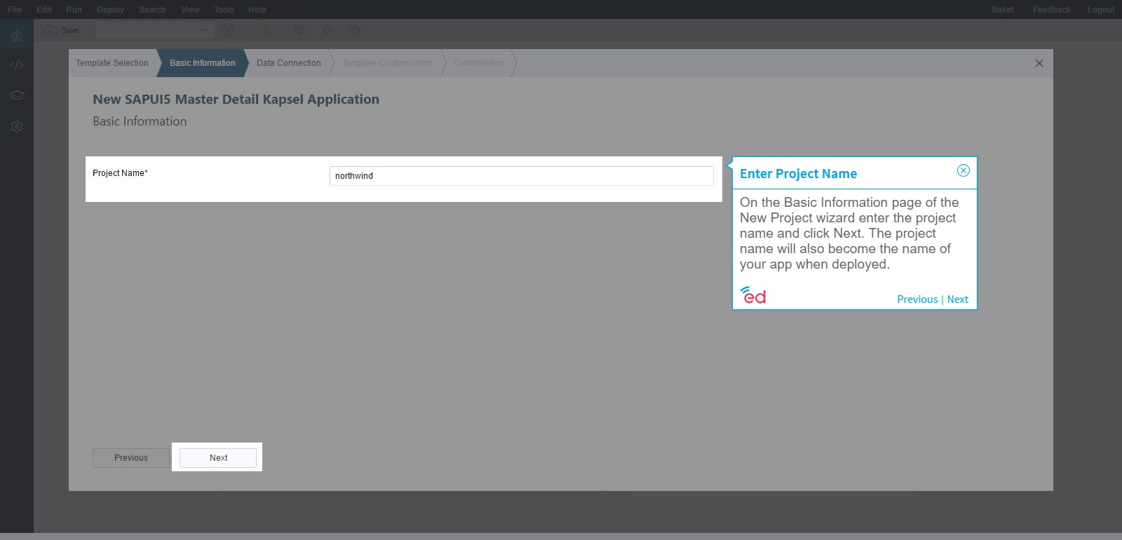 Build an App From a SAP Web IDE Template